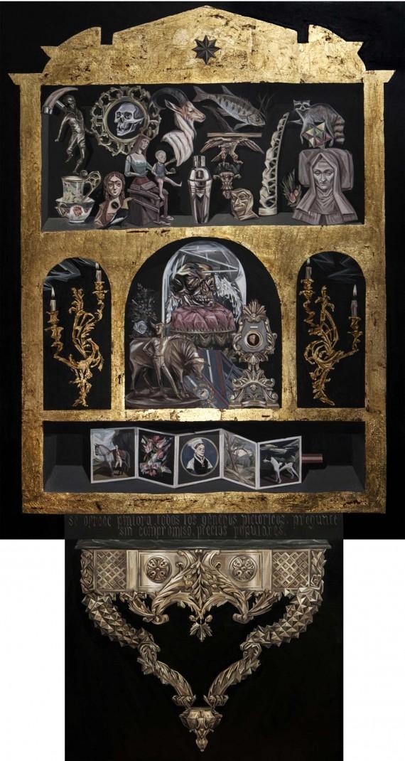 Muebles portareliquias y colecciones