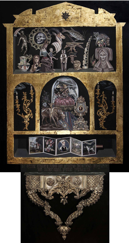Muebles portareliquias y colecciones mariajos gallardo - Muebles jose maria ...