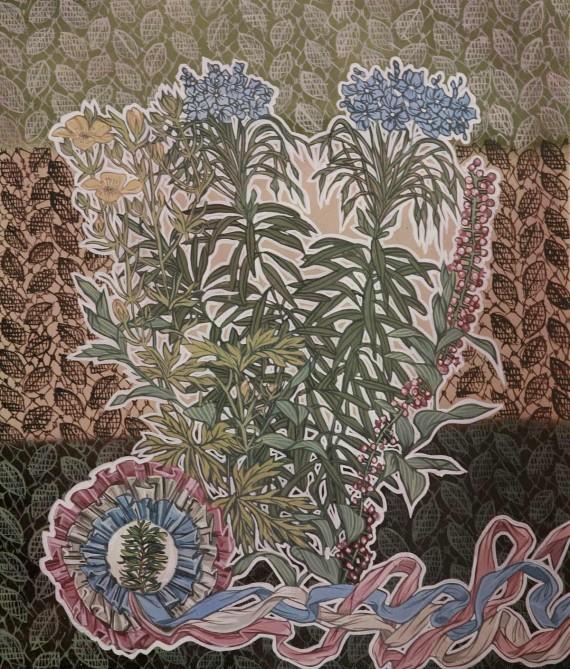 adornos florales con plantas venenosa/ juro que digo la verdad
